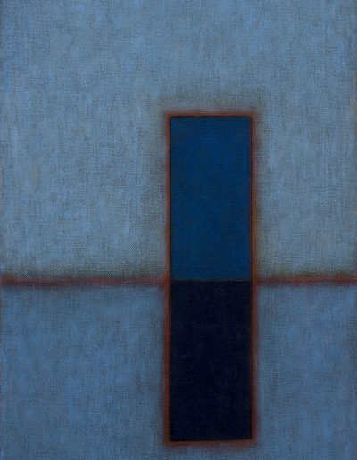 Rectanlgle, Blue, 2017